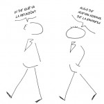 Piquete empresarial, el cómic, tercer episodio: la acumulación de horas de absentismo
