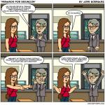 La dura vida de los currelas, #7 Permisos por defunción