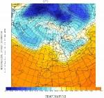 Consecuencias paradójicas del calentamiento global: El temporal de frío y nieve que hemos vivido es debido a que el ártico está más caliente de lo normal