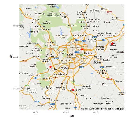 Tomasinos-mapa