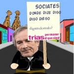 Estrategia política básica: porqué Trias dice que prefiere que gane el favorito de las primarias del PSC