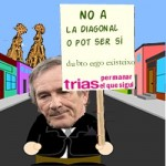 Xavier Trias y la Diagonal