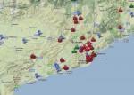 El Google Maps de la crisis en Catalunya