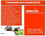 El excusómetro de la consulta del PSC
