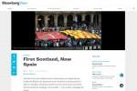 La hoja de ruta de Bloomberg para Mariano Rajoy para el problema catalán