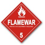 Flamewars, guerras de tartas, política microlocal e interlocución en aquello que es impopular