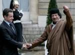 La cruda real politik diplomática y Gadafi solo hace 4 años