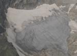 Una de glaciares pirenaicos: el glacier de la Sheil de la Baquo