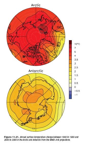 Una de hielos marinos, calentamiento climático y predicciones