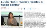 Zeitgeist antisindical VI: Las huelgas políticas de Lucía Figar