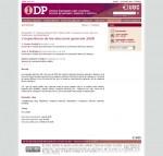 """Artículo publicado en la revista IDP de la UOC: """"La experiencia 2.0 de las elecciones generales 2008"""""""