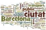 Nube de tags de los contenidos digitales de los candidatos a primarias del PSC de Barcelona