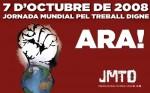7 de octubre jornada mundial por el trabajo digno: NO a las 65 horas