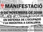 De manifestación: en defensa de la industria y el empleo que la crisis (y el oportunismo) están destruyendo