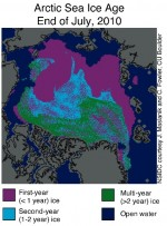 Se perfila como uno de los peores años para los hielos marinos árticos y los glaciares alpinos europeos