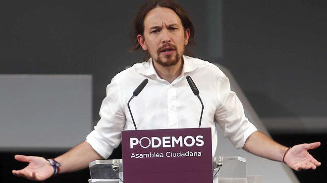Pablo Iglesias, líder de Unidos Podemos,  dimite.