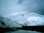 Nieves tardías en el Pirineo