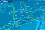 Con el 25% de transporte en hora punta y sin congestiones ni tráfico denso en los accesos viarios ¿hay o no hay huelga?