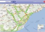 Seguimiento de la huelga en Barcelona por las incidencias de tránsito, analisis de las 7:30h