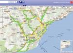 Seguimiento de la huelga en Barcelona por las incidencias de tránsito, analisis de las 8:30h