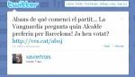 Malas prácticas de los políticos en la red I: Astroturfing electoral de Xavier Trias en las encuestas digitales