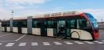 El nuevo bus chanante de Barcelona, el bus-pseudo-tranvía biarticulado