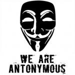 Me declaro Antonymous a la censura que realiza Anonymous y al cierre del Parlament de los de #acampadabcn